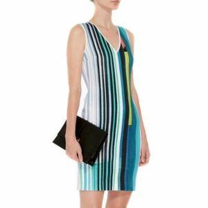 Clover Canyon Eclipse Striped Scuba Dress